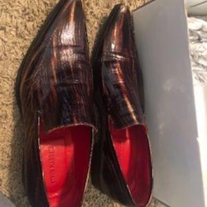 Steve Madden VODOO Brown Lizard Men's Shoe
